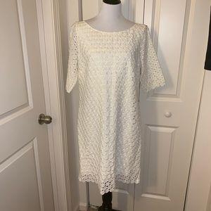 NWT Catherine Maladrino Lace Dress